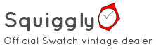 Squiggly for Swatch collectors & Swatch lovers