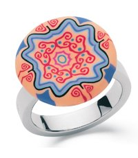 JRD036-6 Batik Pop Ring