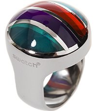 JRD0001-5 Color Cut Multicolor Ring
