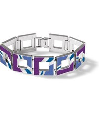 JBV009-M Hot Batik Purple Bracelet