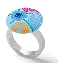 JRS036-5 Paint Circles Ring