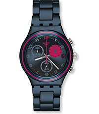 YCN4007AG Blue Fuchsia Circle 40mm