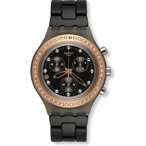Swatch Full-Blooded Black Zegarek