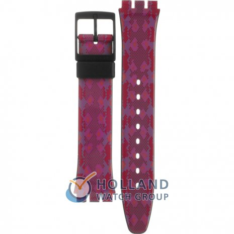Swatch GB255 Snaky Pink Pasek