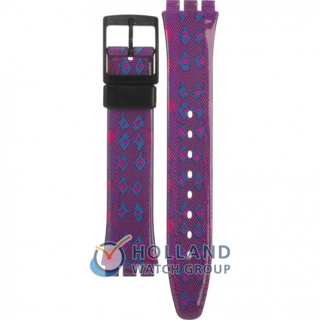 Swatch GB256 Snaky Purple Pasek