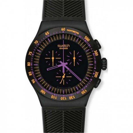 Swatch Purple In Dark Zegarek