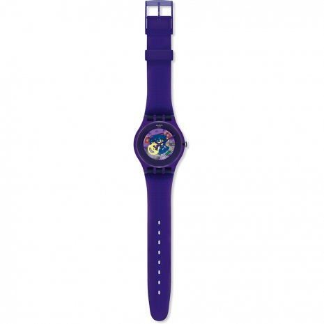Swatch Purple Lacquered Zegarek
