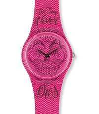 GP138 Time Never Dies Pink 34mm